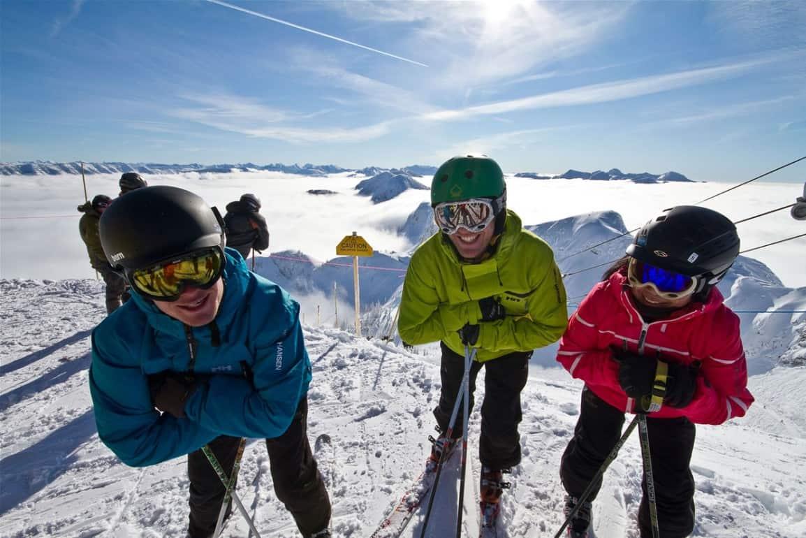 Ski Fernie Opening Day