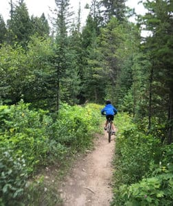 Fall Ride in Fernie